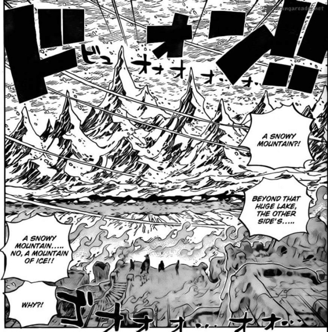 One Piece Chapter 657 - Punk Hazard climate