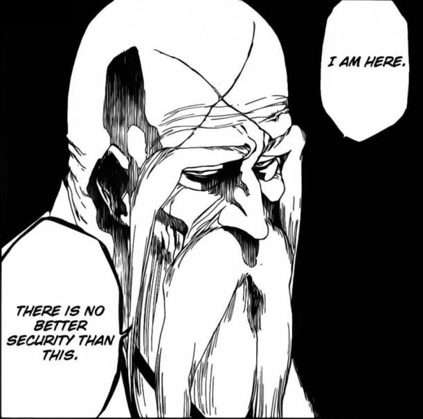 Bleach Chapter 483 - Yamamoto Genryuusai