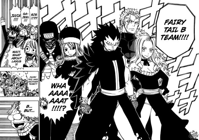 Fairy Tail Chapter 268 - Fairy Tail B Team
