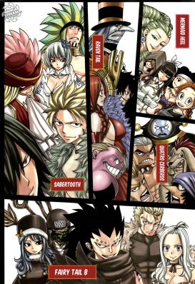 Fairy Tail Chapter 269 - The 8 Finalist Teams in the Grand Magic Games