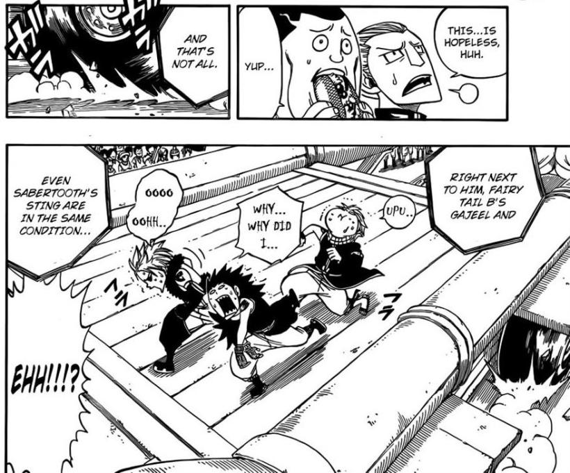 Fairy Tail Chapter 274 - Dragon Slayers weakness