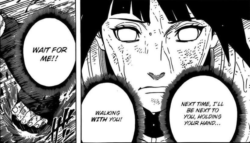 Naruto Chapter 573 - Hinata's determination
