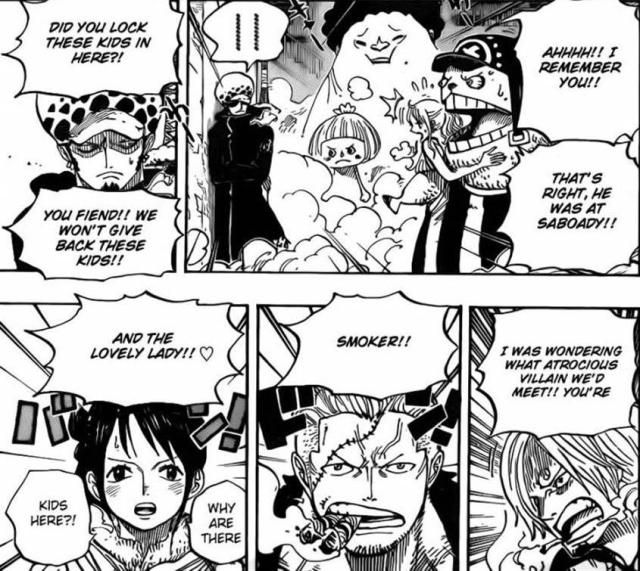 One Piece Chapter 660 - Strawhats