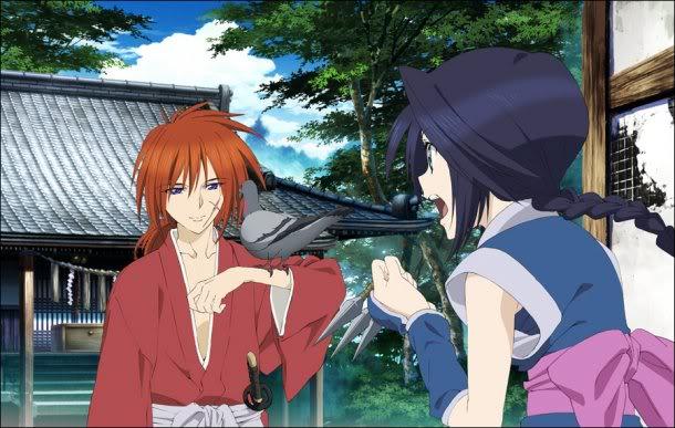 Rurouni Kenshin ~ Shin Kyoto-Hen OVA - Kenshin and Misao