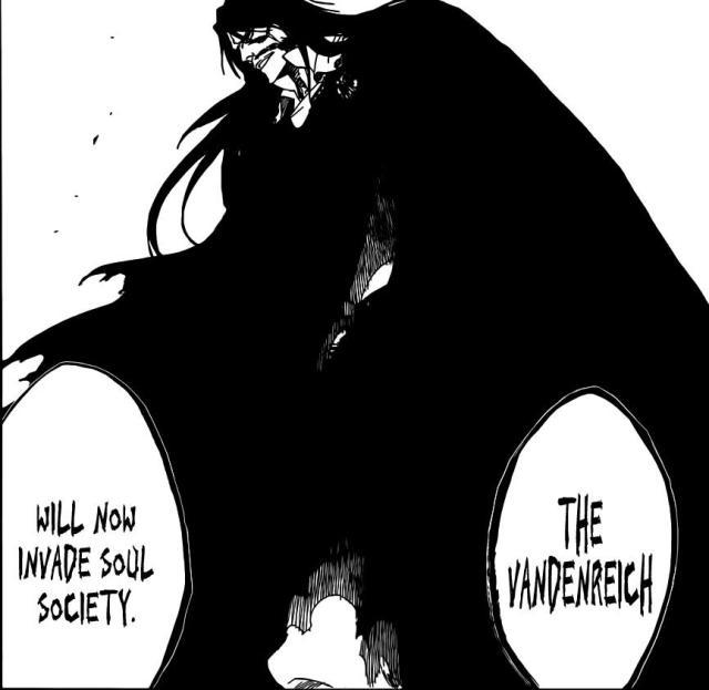 Bleach Chapter 489 - Vandenreich begins to move