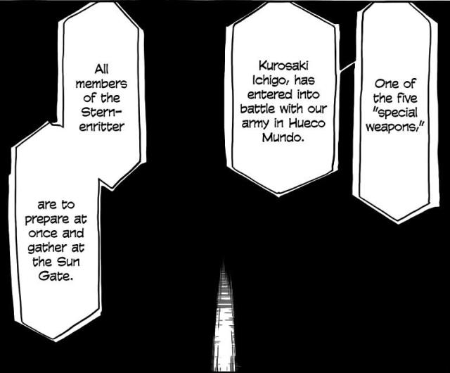 Bleach Chapter 490 - The five special weapons