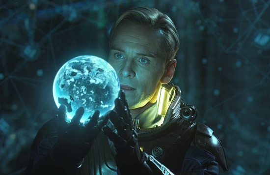 Prometheus - David - Michael Fassbender