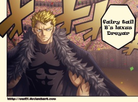 Fairy Tail Chapter 286 - Laxus - by One67 (http://one67.deviantart.com)