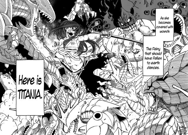 Fairy Tail Chapter 284 - page 16-17