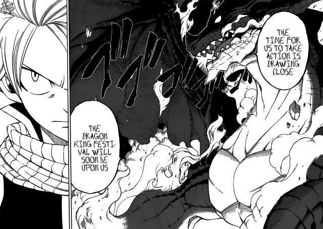Fairy Tail Chapter 293 - The Approaching Dragons