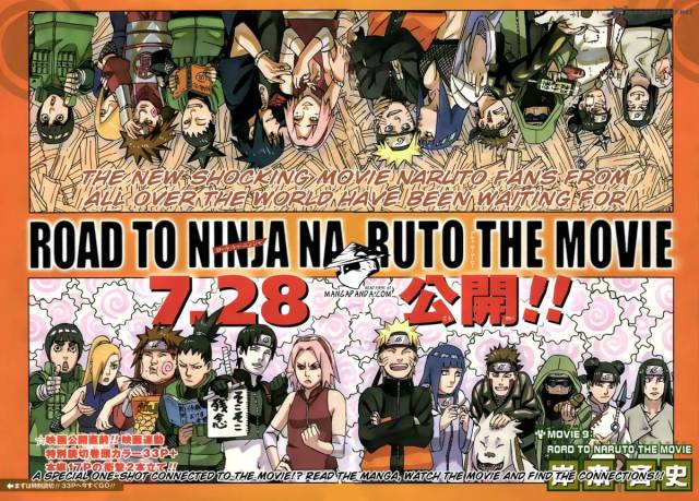Naruto - Road To Ninja Special Chapter - colour spread