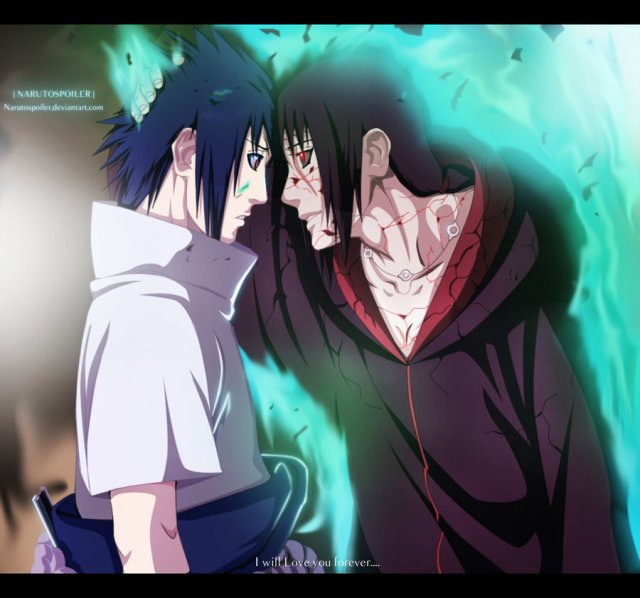 Naruto Chapter 590 - I Love You Forever - colour by Narutospoiler (http://narutospoiler.deviantart.com)