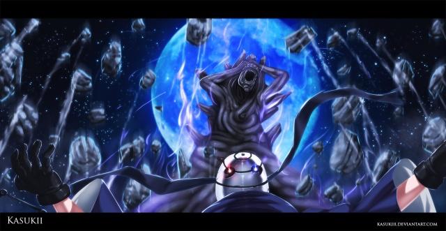 Naruto Chapter 594 - Infinite Tsukuyomi - colour by Kasukiii (http://kasukiii.deviantart.com)