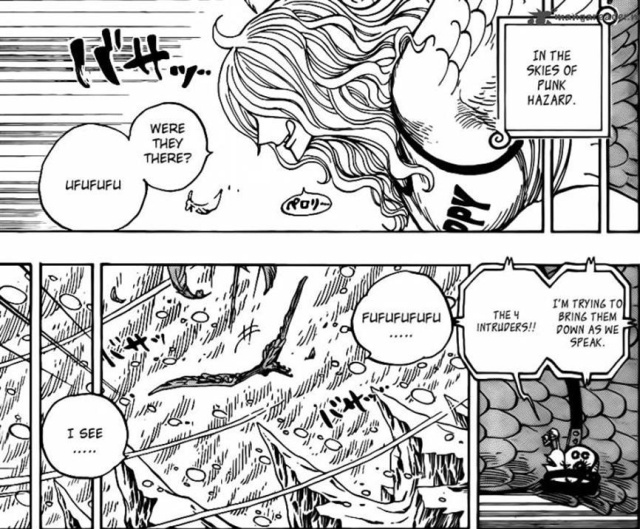 One Piece Chapter 657 - The Harpy Monet not cold?