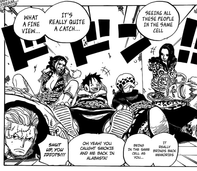 One Piece Chapter 673 - Captured