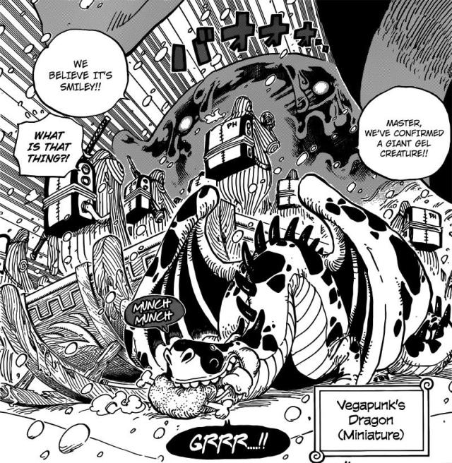 One Piece Chapter 675 - Dragon