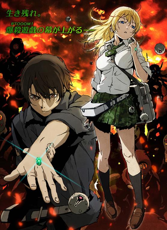 Btooom! - Anime Poster-1