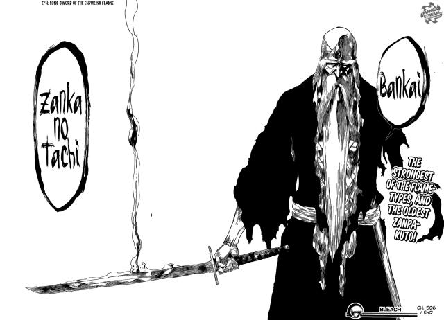 Bleach Chapter 506 - Shigekuni's Bankai