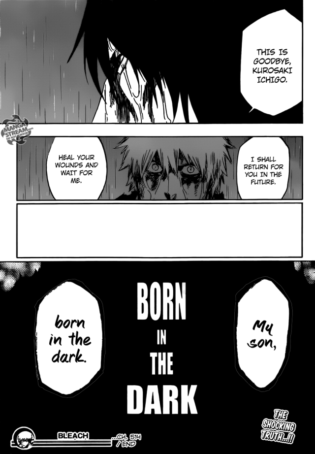 Bleach Chapter 514 - Born in the dark