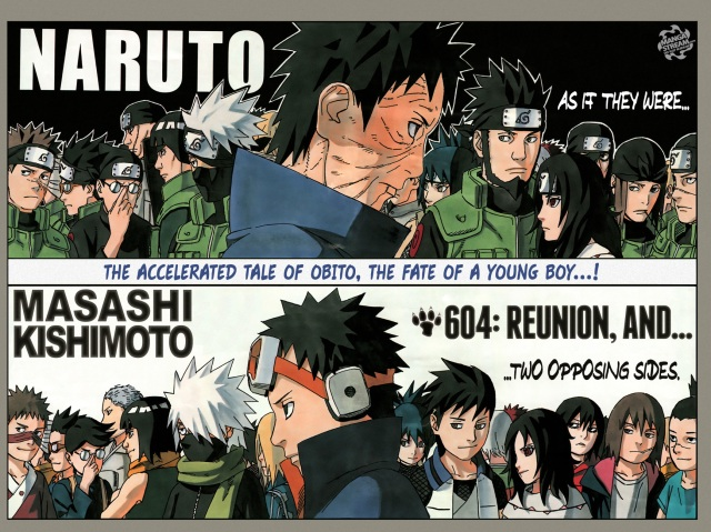 Naruto Chapter 604 - Uchiha Obito