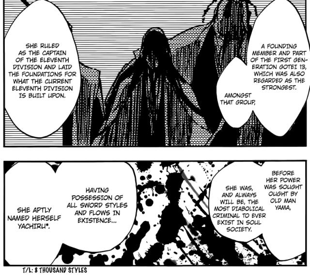 Bleach Chapter 523 - Unohana Yachiru