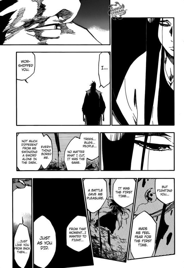 Bleach chapter 524 - Zaraki's admiration