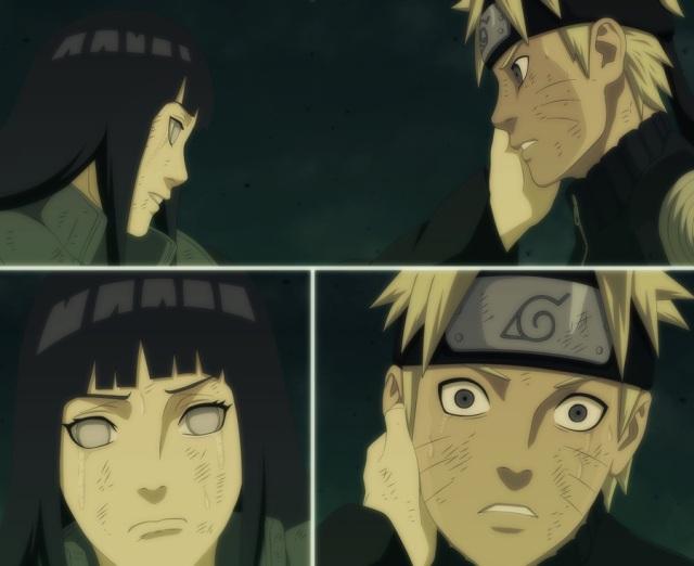 Naruto 615 -  Naruto and Hinata - by rechever3