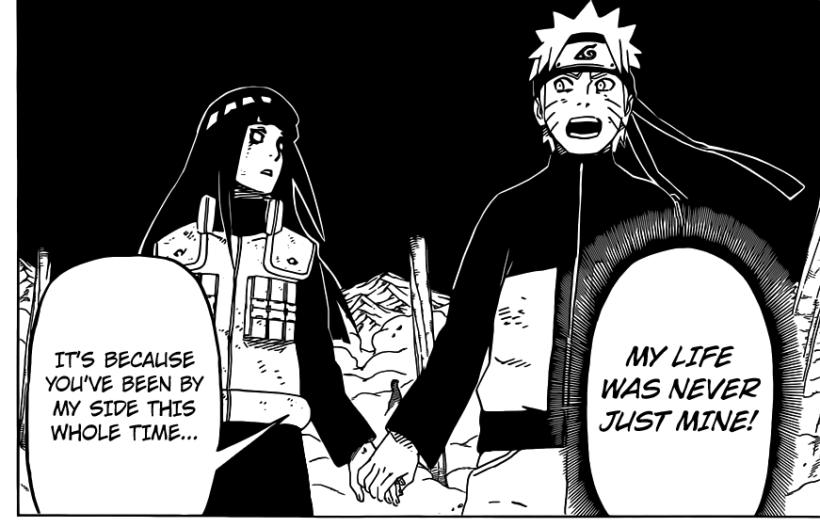 Naruto Chapter 615 - Hinata and Naruto