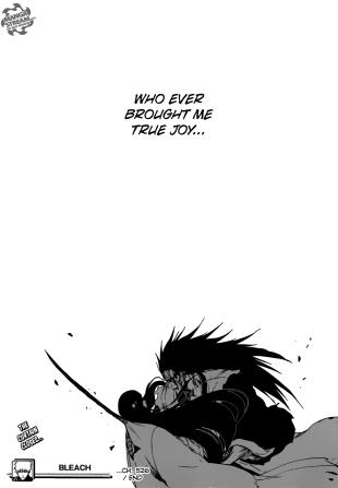 Bleach ch526 - Unohana and Zaraki - 2