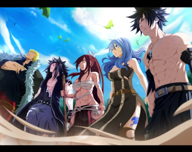 Fairy Tail ch322 - Fairy Tail - collaboration - by tremblax (http://tremblax.deviantart.com)