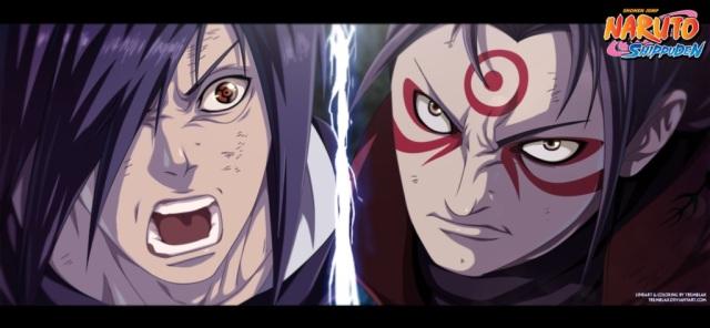 Naruto ch621 - God vs God- colour by Tremblax (http://tremblax.deviantart.com)