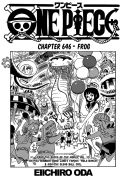 One Piece ch646 - cover page