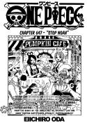 One Piece ch647 - cover page