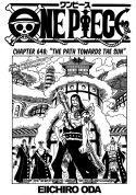 One Piece ch648 - cover page