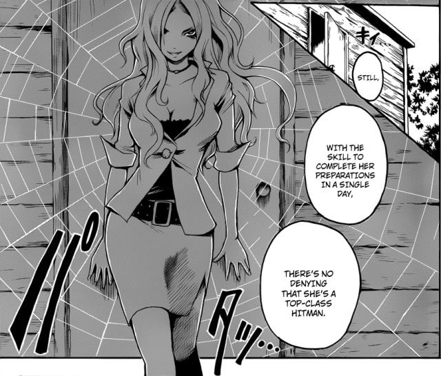 Ansatsu Kyoushitsu volume 2 chapter 9 - Irina Jelavic