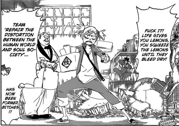 Bleach chapter 545 - Hiyori