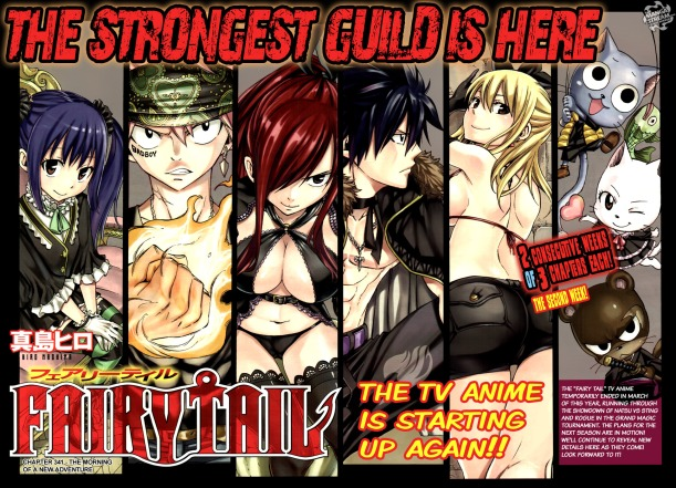 Fairy Tail chapter 341 - The Anime Returns