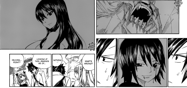Fairy Tail chapter 343 - Gray's sadness