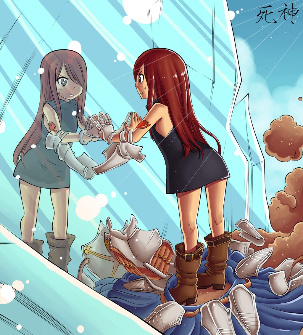 Fairy Tail Manga Erza