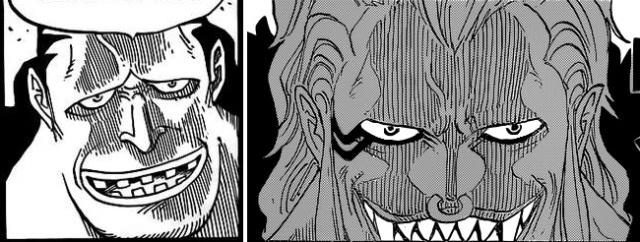 One Piece - Bluejam and Bartolomeo comparison
