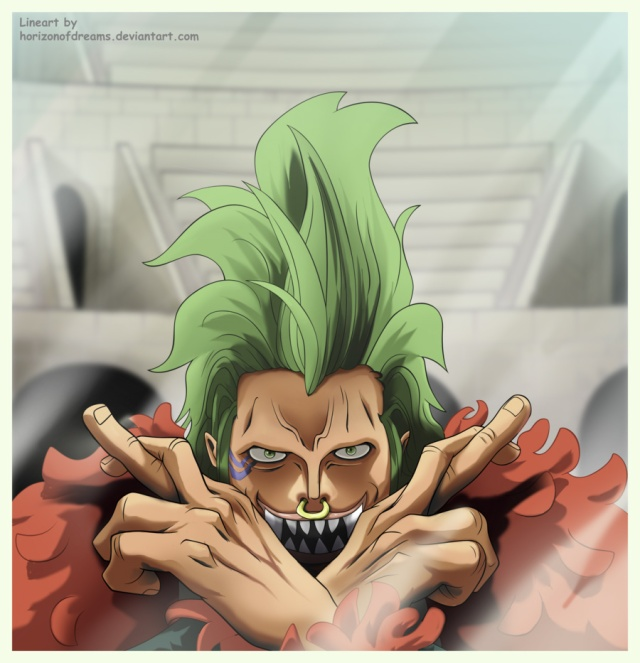 One Piece chapter 709 - Bartolomeo - colour by Choparini (http://choparini.deviantart.com)