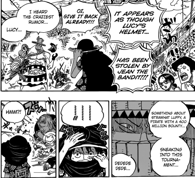 One Piece Chapter 715 - Jean Ango
