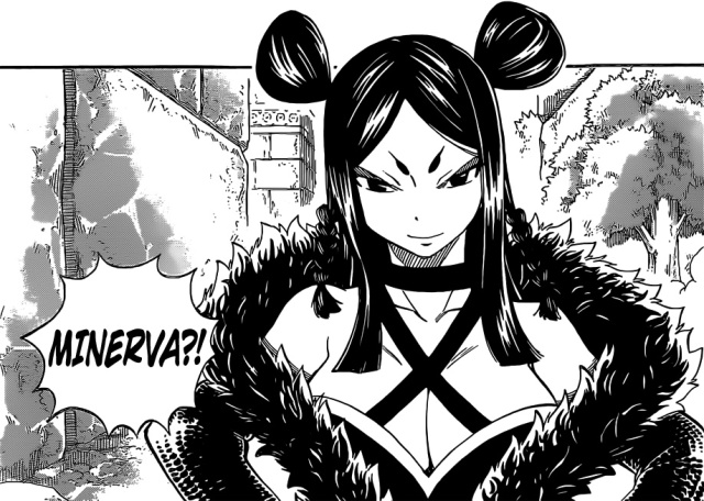 Fairy Tail chapter 346 - Minerva appears