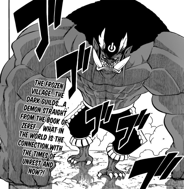 Fairy Tail chapter 349 - The demon Doriarte