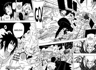 Naruto chapter 641 - Obito damaged?