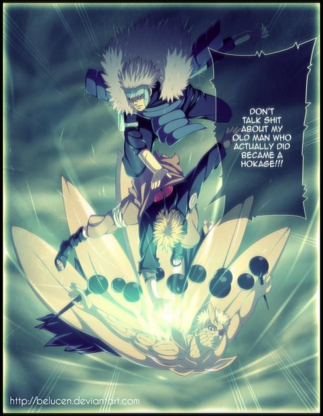 Naruto chapter 642 - Naruto's Anger - colour by belucEN (http://belucen.deviantart.com)