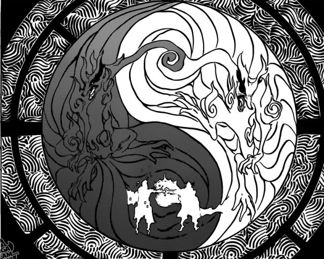 Naruto Chapter 644 - Taijitu of Kurama, Minato and Naruto