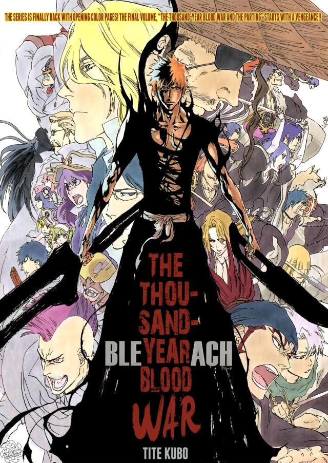 Bleach chapter 547 - Kurosaki Ichigo and the tousand year blood war