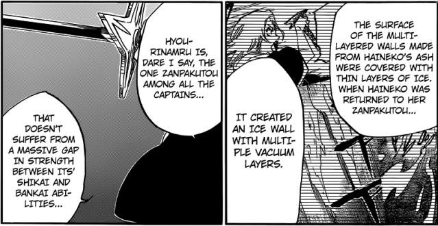 Bleach chapter 548 - Multiple Vacuum Layered Ice Wall