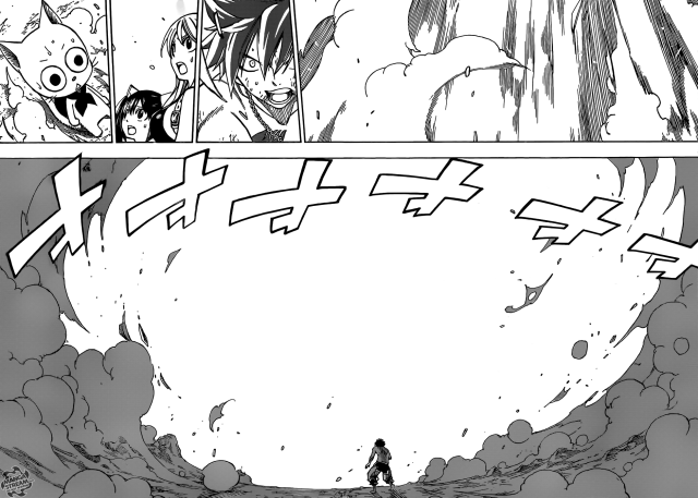 Fairy Tail chapter 351 - The disappearing flame